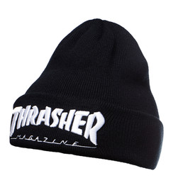 Thrasher - Embroidered Logo Beanie
