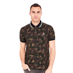 Fred Perry - Camouflage Pique Polo Shirt
