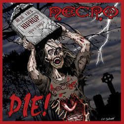 Necro - Die! Black Vinyl Edition