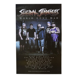 Suicidal Tendencies - World Gone Mad Poster