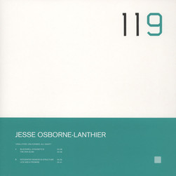 Jesse Osborne-Lanthier - Unalloyed, Unlicensed, All Night!