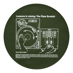 Technics - Lessons In Mixing 1: The Flare Scratch Slipmat