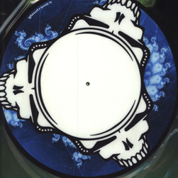 Glowtronics - Dead Heads Glow In The Dark Slipmat