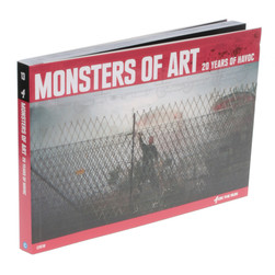 Amber Grünhäuser - Monsters of Art - 20 Years Of Havoc Paperback