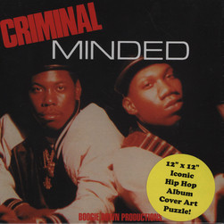Boogie Down Productions - Criminal Minded Puzzle Edition