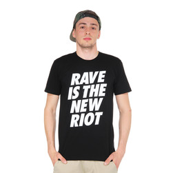 Wasted German Youth - Rave Is The New Riot T-Shirt