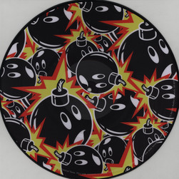 Serato x The Hundreds - Adam Bomb Picture Disc Control Vinyl