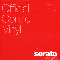 Serato - Control Vinyl Performance Series RED