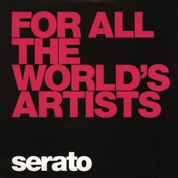 Serato - Control Vinyl Performance Series BLACK For All The Worlds Artists