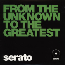 Serato - Control Vinyl Performance Series BLACK From the Unknown limited edition