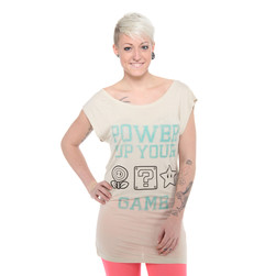 Nintendo - Power Up Your Game Sleeveless Women T-Shirt