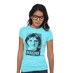 John Lennon - Imagine Square Photo Women T-Shirt