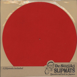Dr. Suzuki - Slipmats Mix Edition Red