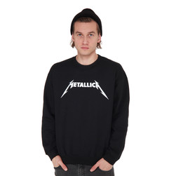 Metallica - Logo Crewneck Sweater