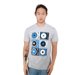 Ubiquity - Turntable Pattern T-Shirt