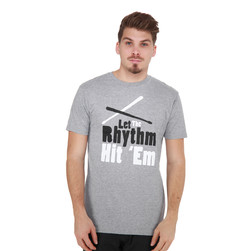 101 Apparel - Let The Rhythm Hit 'Em T-Shirt