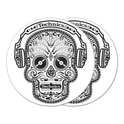 DMC & Technics - Skull Slipmat