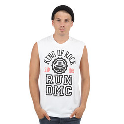 Run DMC - King Of Rock Varsity Muscle Tank Top