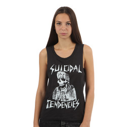 Suicidal Tendencies - Flipskull Sleevless Women Muscle Top