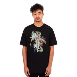 Abstract Rude - Paint Logo T-Shirt