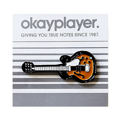 Okayplayer - Guitar Enamel Pin