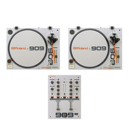 Roland - DJ Starter Set (2x TT-99 Turntable | 1x DJ-99 Mixer) Bundle