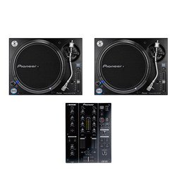 Pioneer - DJ Set (2x PLX-1000 Turntable | 1x DJM-350 Mixer) Bundle