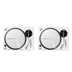 Pioneer - Turntable DJ Set (2x PLX-500 W) Bundle