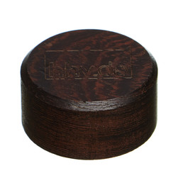 "hhv.de - 45 RPM Adapter - 7"" Single Puck Wood Edition"