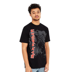 Iron Maiden - Hi-Contrast Trooper T-Shirt