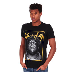 Notorious B.I.G. - Life Gold T-Shirt