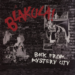 BLAKULA - Back From Mystery City - LP