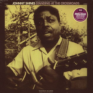 JOHNNY SHINES - Standing At The Crossroads - LP
