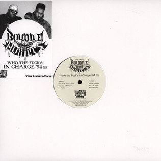 Bound E! Hunters Who The Fuck's In Charge '94 EP
