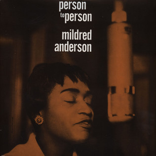 MILDRED ANDERSON - Person To Person - LP