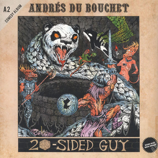 ANDRES DU BOUCHET - 20-Sided Guy - LP