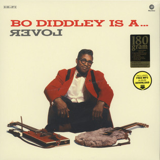BO DIDDLEY - I A Lover - LP