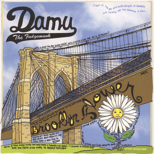 Damu The Fudgemunk Brooklyn Flower White Vinyl Edition