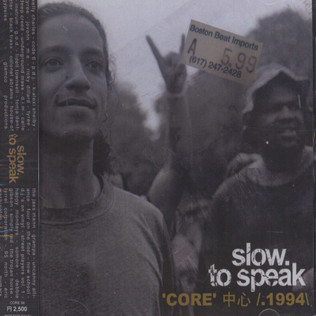 V.A. (SLOW TO SPEAK) - Core - 1994 - CD