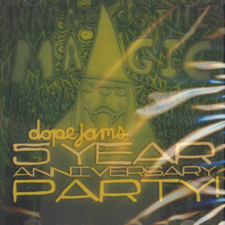 V.A. (SLOW TO SPEAK) - Dope Jams 5 Year Anniversary - CD