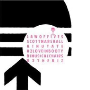 SCOTT MARSHALL - Law of Fives EP - 12 inch x 1