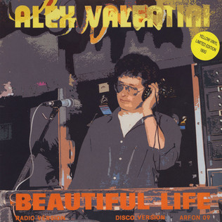 ALEX VALENTINI - Beautiful Life Yellow Vinyl Edition - 12 inch x 1