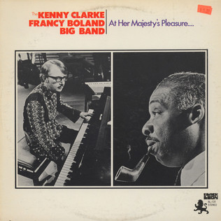 CLARKE-BOLAND BIG BAND - At Her Majesty's Pleasure.... - LP