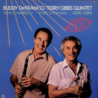 BUDDY DEFRANCO / TERRY GIBBS QUINTET - Holiday For Swing - LP