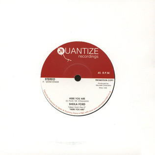 SHEILA FORD - Here You Are / The Best Of My Love - 7inch x 1