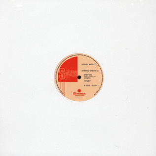 HARRY MOSCO - Step On / Sexy Dancer - 12 inch x 1