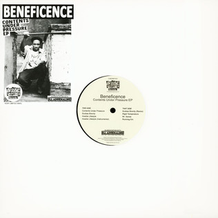 Beneficence Contents Under Pressure EP
