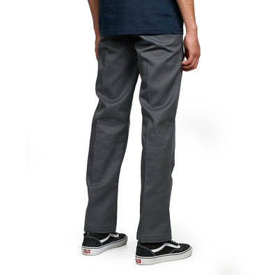 dickies 873 o dog slim straight work pant charcoal. Black Bedroom Furniture Sets. Home Design Ideas