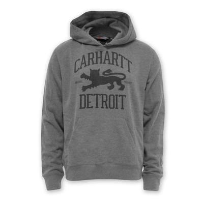 Carhartt WIP - Hooded Detroit Lion Sweater