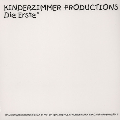 Kinderzimmer productions die erste vinyl lp 1994 for Kinderzimmer productions